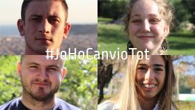 Imatge campanya #JoHoCanvioTot de l'Obra Social de Sant Joan de Déu
