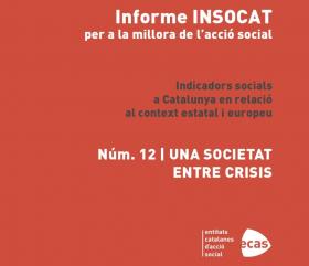 Imatge portada informe INSOCAT d'ECAS 'Una societat entre crisis'