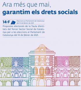 Imatge portada document propostes electorals de la Taula del Tercer Sector
