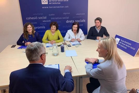 Primeres reunions amb alcaldables de Barcelona