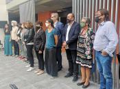 Imatge roda de premsa presentació decàleg barcelona pel dret a l'habitatge