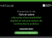 Presentació estudi clàusules d'accessibilitat digital en els processos de compra pública innovadora