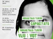 Acte reivindicatiu de Dincat de defensa dels drets de les persones amb discapacitat intel·lectual
