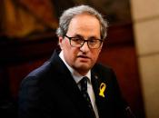 Imatge del president de la Generalitat de Catalunya Quim Torra